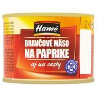 Bravčové mäso na paprike 180 g
