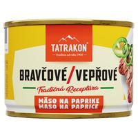 Bravčové mäso na paprike 190 g
