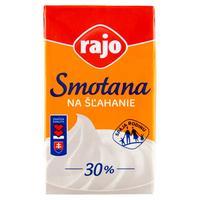 Smotana na šľahanie 30 % 250 ml