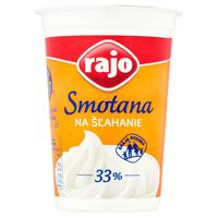 Smotana na šľahanie 33 % 250 ml