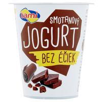 Smotanový jogurt bez éčiek čokoládový 135 g