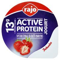 Active protein jogurt jahoda 180 g