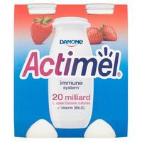 Actimel jahodový 4 x 100 g