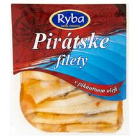 Pirátske filety v pikantnom oleji 150 g