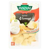 Panzani Ravioli so 4 druhmi syra 250 g