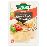 Panzani Mezzaluna plnené paradajkami, mozzarellou a bazalkou 250 g