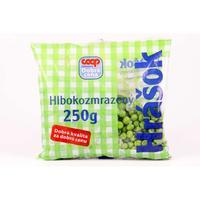Hrášok hlbokozmrazený COOP 250 g