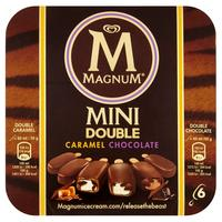 Magnum Mini Double Choco Caramel 360ml (6 x 60 ml)