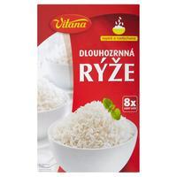 Ryža dlhozrnná lúpaná 8 x 100 g
