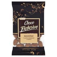Choco Exclusive mandle v mliečnej čokoláde a škorici 150 g