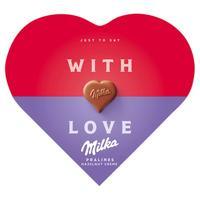 I love Milka nut nougat 44 g