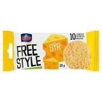 Chlebík Racio Free style syr 25 g