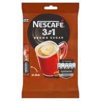 Nescafé 3v1 hnedý cukor 10 x 16,5 g