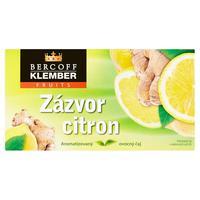 Čaj Bercof  Klmber zázvor - citrón 40 g