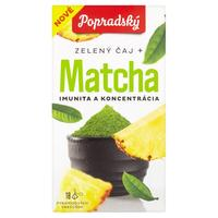 Čaj zelený Matcha imunitta a koncentrát 27 g