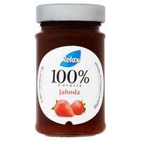 Relax ovocná nátierka 100 % z ovocia jahoda 220 g