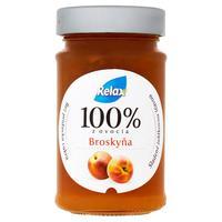Relax ovocná nátierka 100 % z ovocia broskyňa 220 g