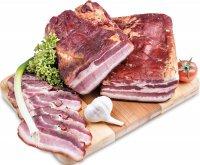 Bačova slanina údená