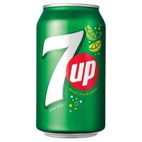 7UP 0,33 l  plech