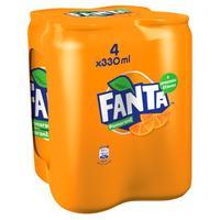 Fanta orange 4 x 330 ml