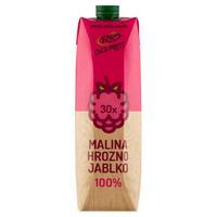 Rio Fresh 100 % šťava ovocný mix s malinami 1 l