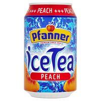 Ľadový čaj broskyňa 0,33 l plech
