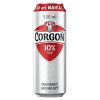 Corgoň 10 % plechovka 0,55 l