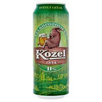 Velkopopovický Kozel 11 % plechovka 0,5 l