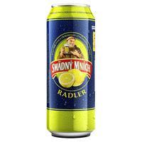 Smädný Mních Radler citrón plechovka 0,5 l