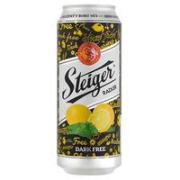 Steiger radler nealko tmavý 0,5 l