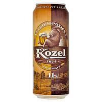 Velkopopovický Kozel polotmavý 11 % plech 0,5 l