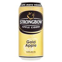 Nápoj Ciders Apple Strongbow Gold Apple 440 ml plechovka