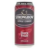 Nápoj Ciders Apple Strongbow Dark Fruit 440 ml plechovka