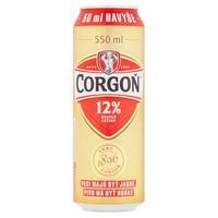 Corgoň 12 % 0,5 l + 50 ml naviac, plech