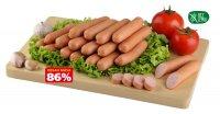 Kája párky pre deti 86% mäsa cca 500 g
