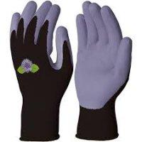 Latexové rukavice fialové č. 8