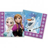 Servítky Frozen 2-vrstvové 33 x 33 cm 20 ks