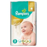 Pampers premium care 3 (5 - 9 kg) 60 ks