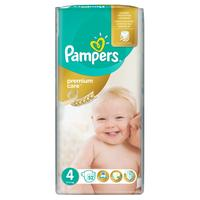 Pampers premium care 4 (8 - 14 kg) 52 ks