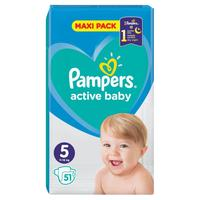 Pampers active baby 5 (11-16 kg) 51 ks