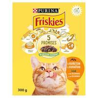 Friskies Adult Cat kura a zelenina 300 g