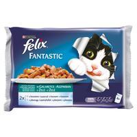 Felix Fantastic želé s lososom 4 x 100 g
