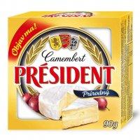 Camembert Président prírodný 90 g