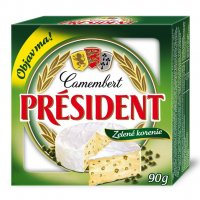 Camembert Président zelené korenie 90 g