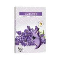 Sviečka čajová levanduľa 6 ks