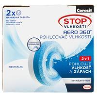 Ceresit Aero 360 náplň proti vlhkosti 2 x 450 g