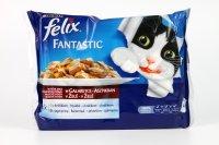 Felix Fantastic s králikom a jahňacím 4 x 100 g