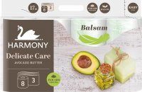 Harmony DelicateCare Avocado 3-vrstvový 8 ks
