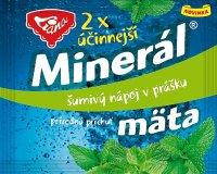Minerál šumivý nápoj v prášku príchuť mäta 6 g