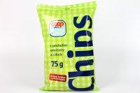 Chips s príchuťou smotany a cibule COOP 75 g